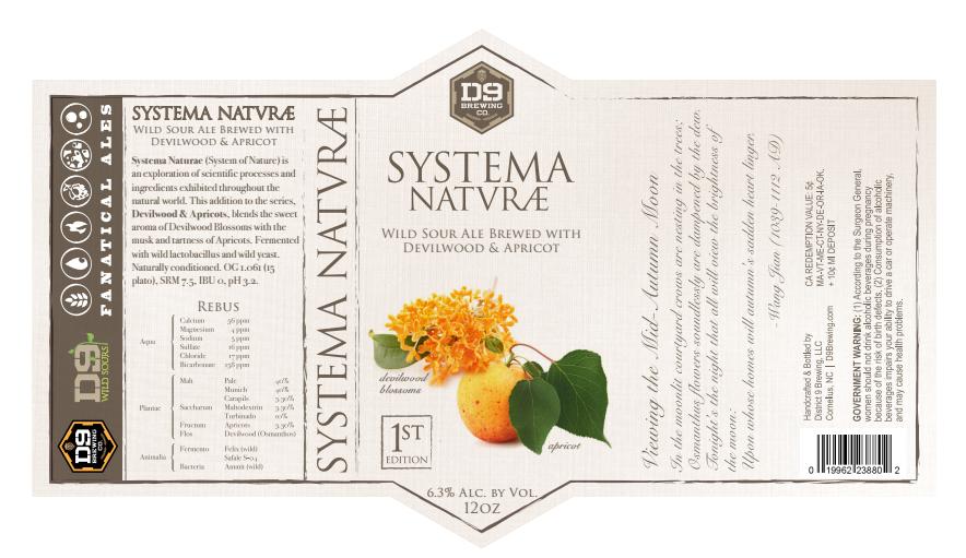 D9 Brewing Systema Naturæ
