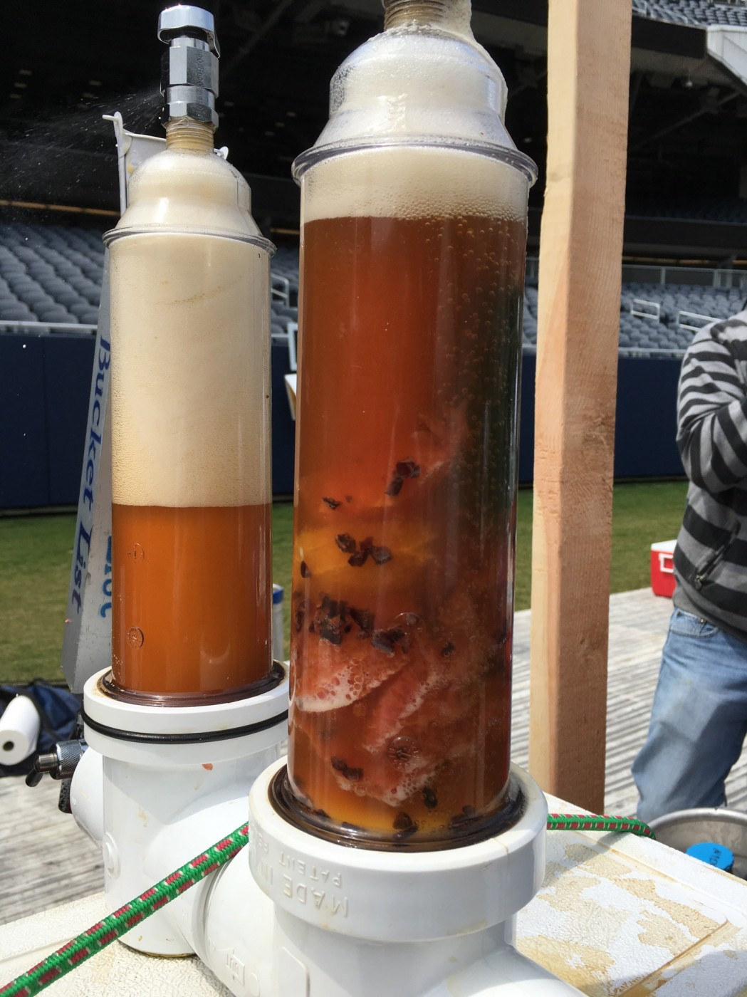 Bucket List is always known for bringing a randall to beer events.