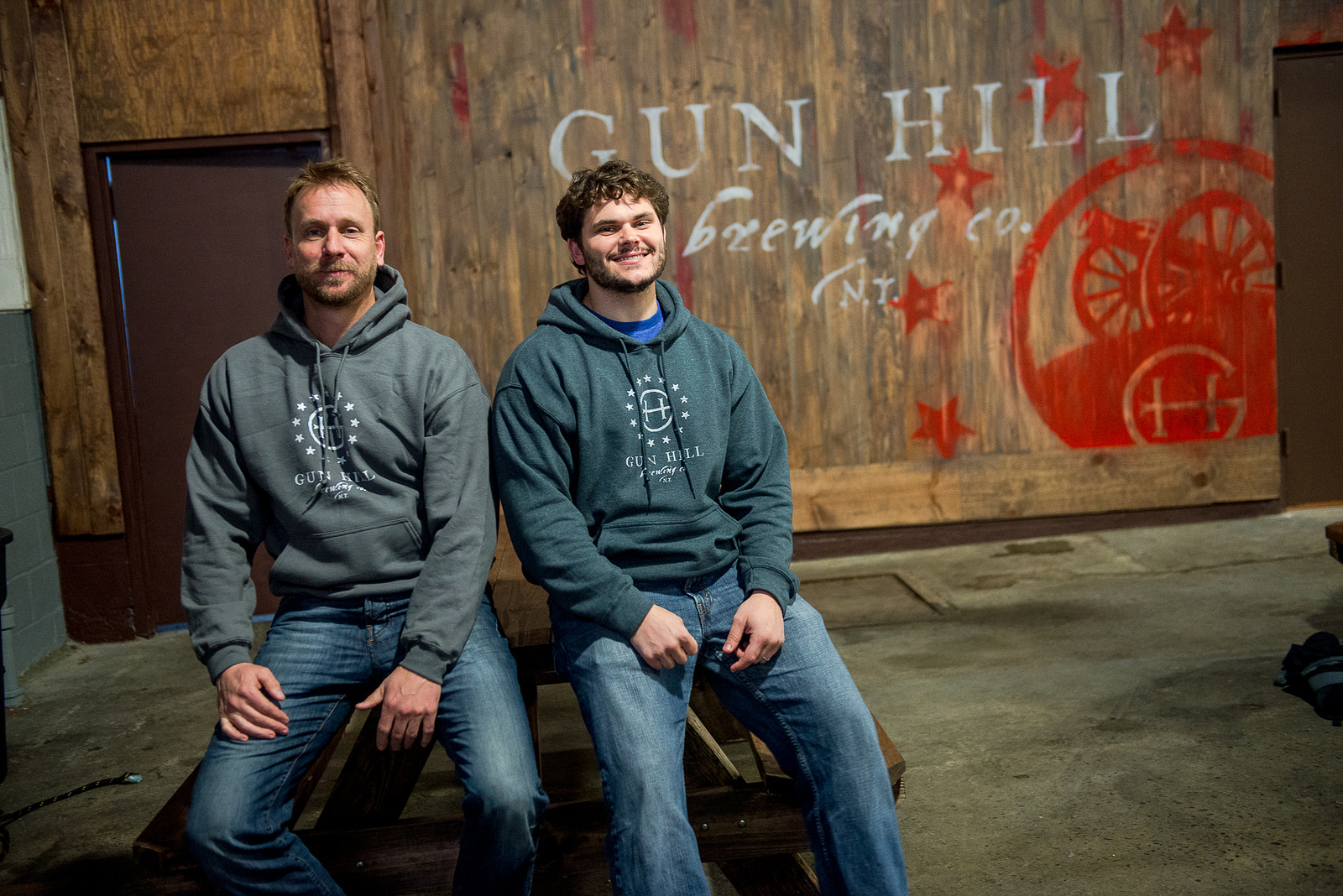 Lopez (right) is co-managing partner at Gun Hill Brewing in NYC, which opened in 2014.