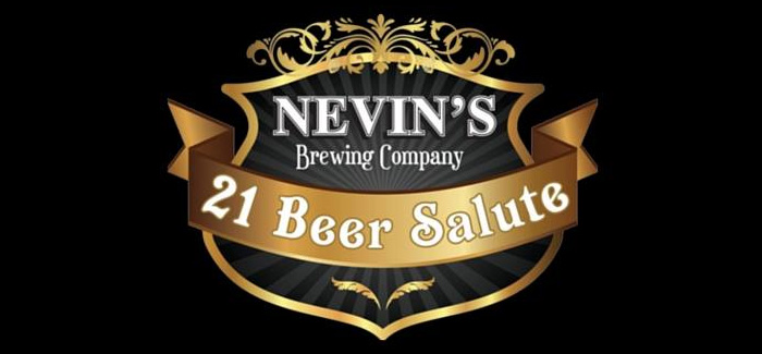 Chicago Craft Beer Week | Nevin's Brewing Co. 21 Beer Salute