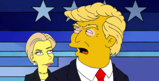 Simpsons Election