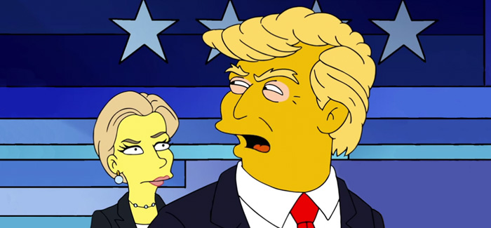 The 2016 Election Cycle (Lazily) Represented by Simpsons GIFs