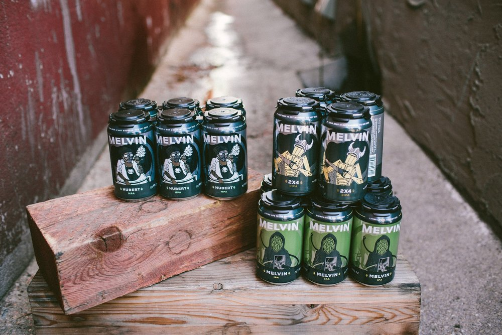 Melvin Brewing Cans