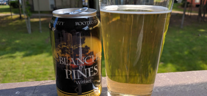 Southern Pines Brewing Company | Blanche de Pines