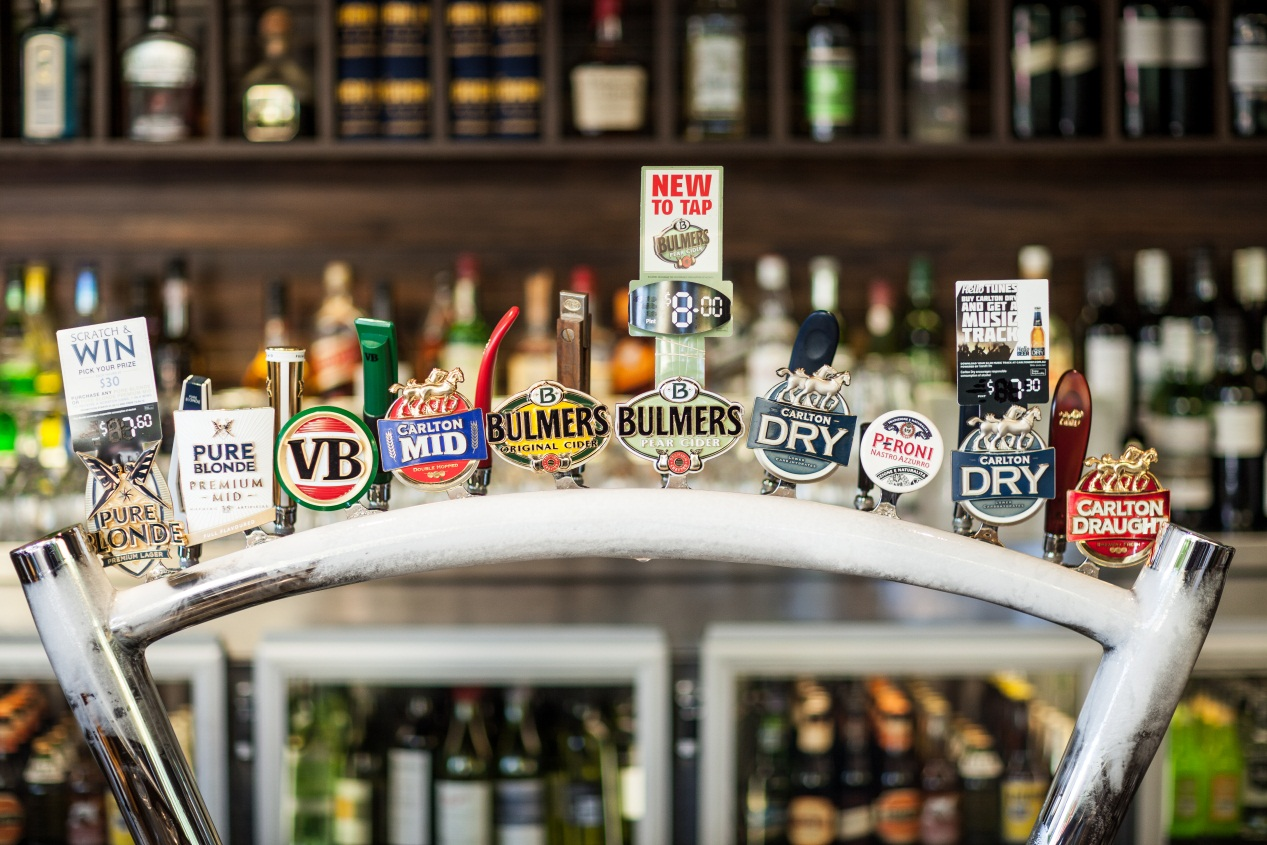 Photo courtesy of  Carlton & United Breweries (CUB)