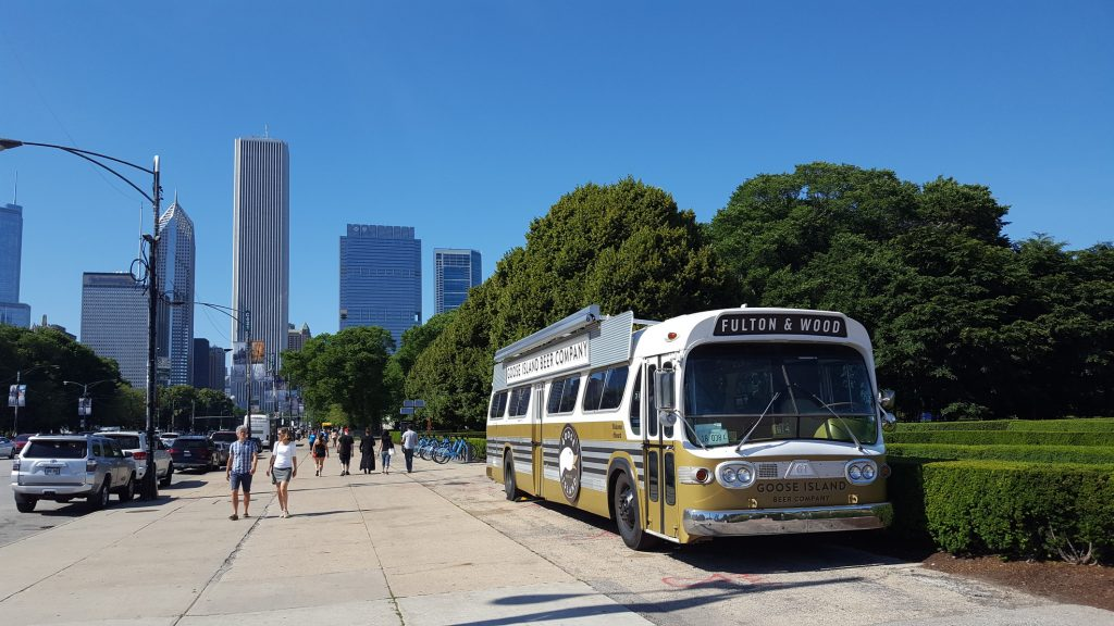 Chicago Ale Fest - Goose Island Beer Company Bus
