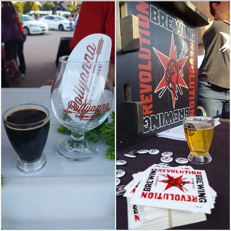 Chicago Ale Fest - Pollyanna Brewing and Revolution Brewing