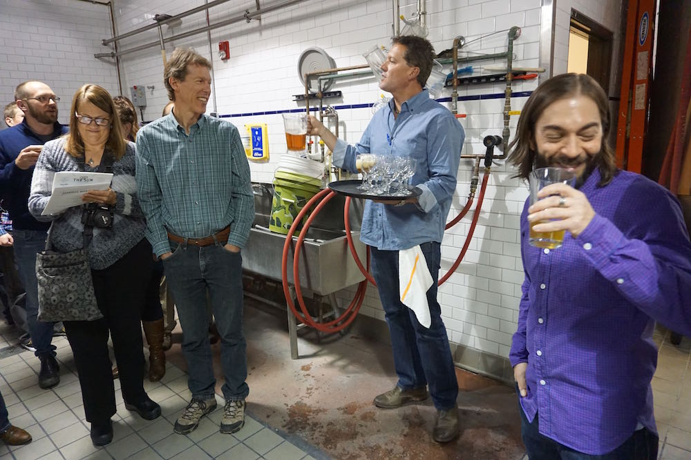 John Fiorilli, Head Brewer of Mountain Sun Breweries