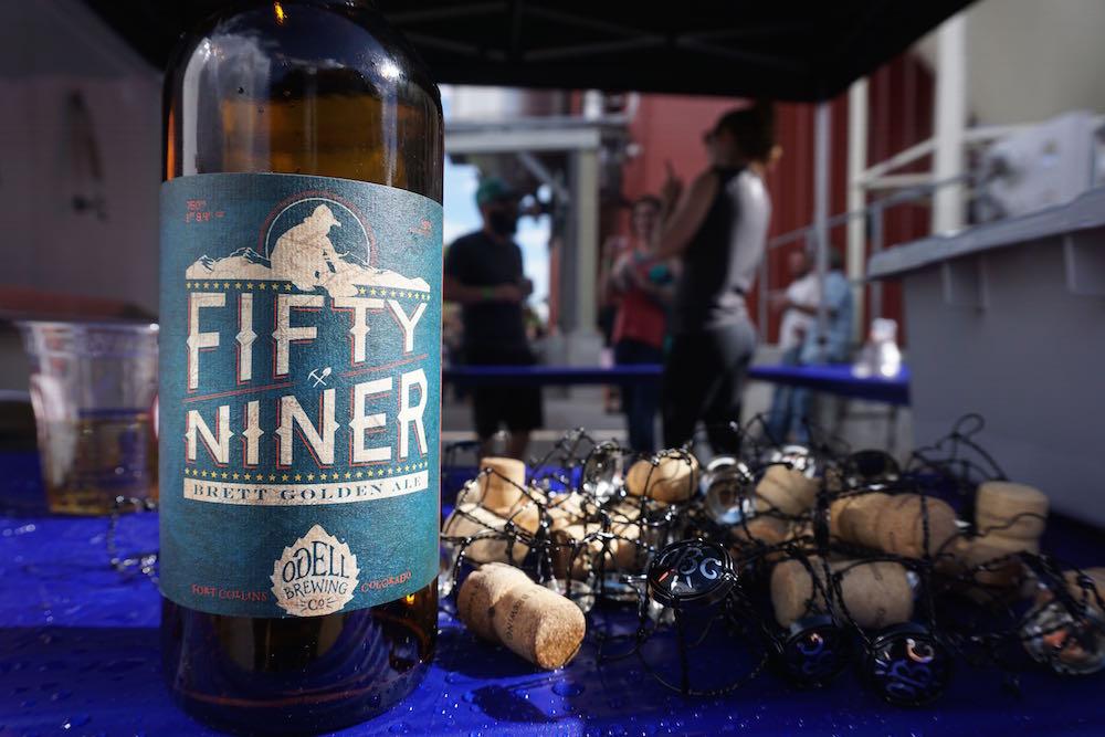 odell brewing fifty niner brett golden