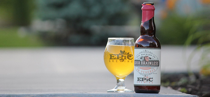 Epic Brewing Company | Sour Brainless on Peaches