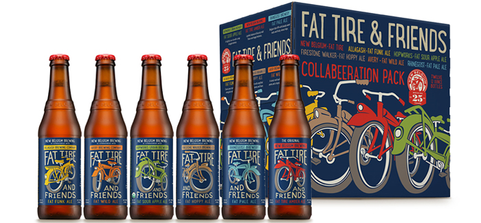 Fat Tire-Inspired, New Belgium Celebrates 25 Years With Friends