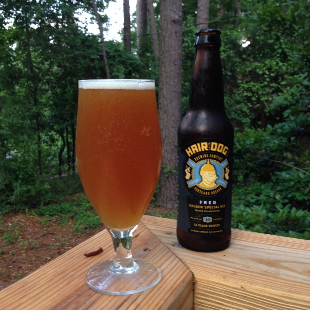 Hair of the Dog Brewing Co. - Fred Golden Special ale