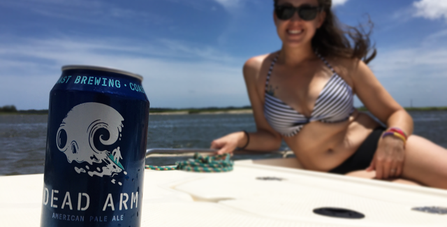 Im on a boat in South Carolina