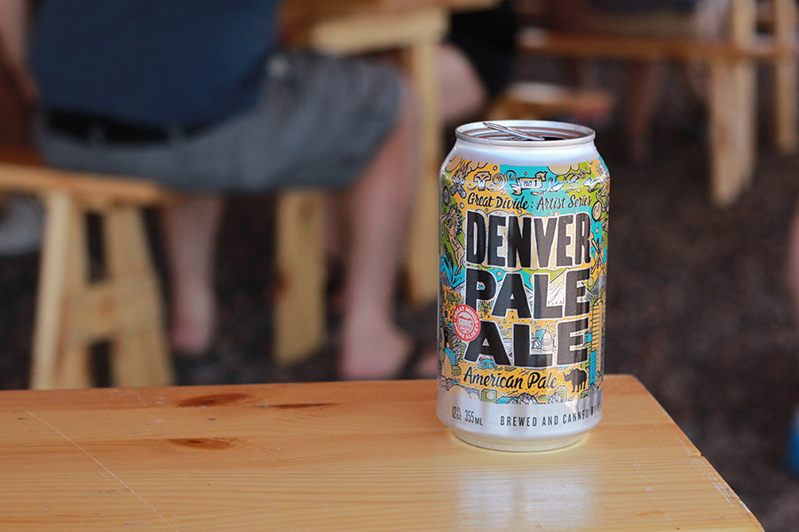 Great Divide Brewing Denver Pale Ale New Label