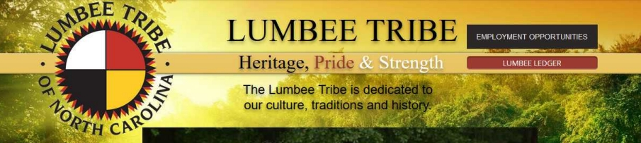 A screenshot of the Tribe's own website shows both the tribal seal and logo that the Bud ads used.