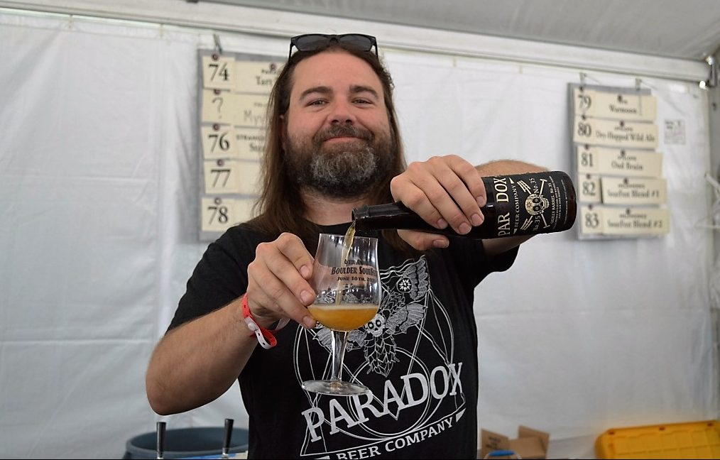 Paradox Brewing was also pouring some solid beers during the festival.