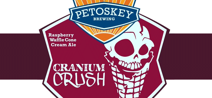 Petoskey Brewing Company | Cranium Crush Waffle Cone Raspberry Cream Ale
