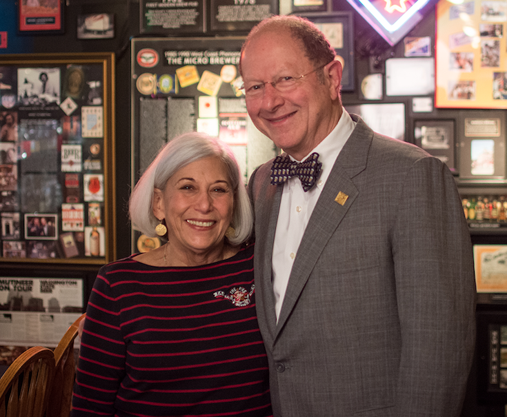 Rose Ann and Charles Finkel, founders of Pike. Photo courtesy of Pike Brewing.