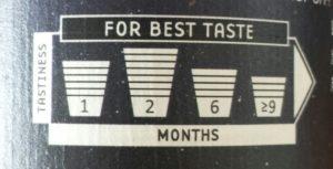 Tastiness Scale