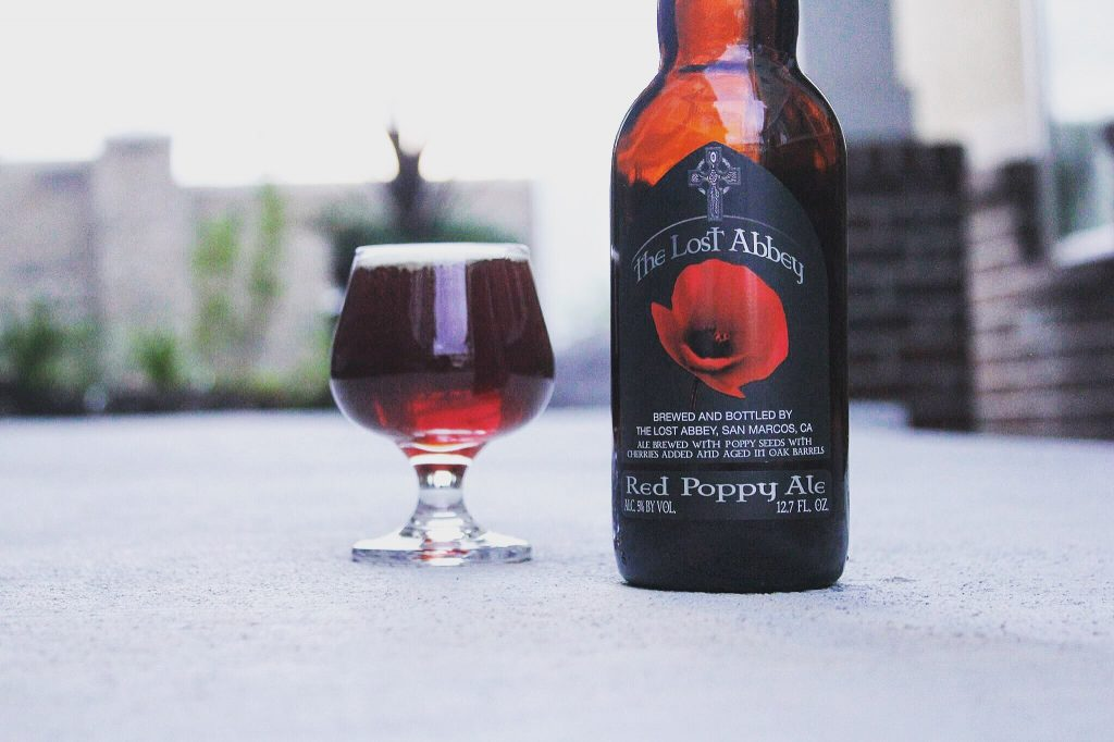 The Lost Abbey - Red Poppy Ale