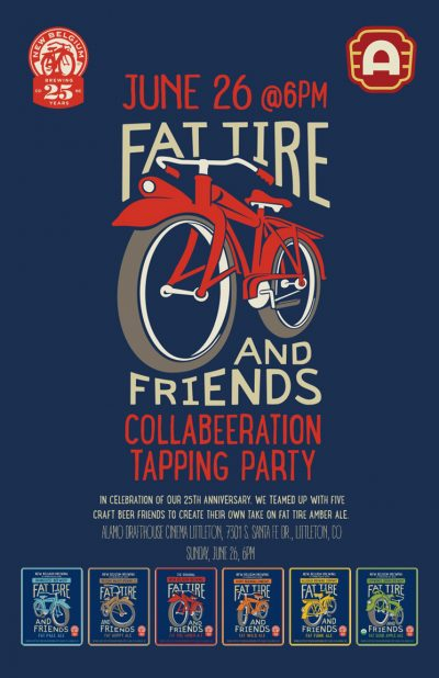 Fat Tire and Friends Collabeeration Tapping Party poster