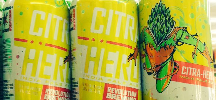 Revolution Brewing | Citra Hero