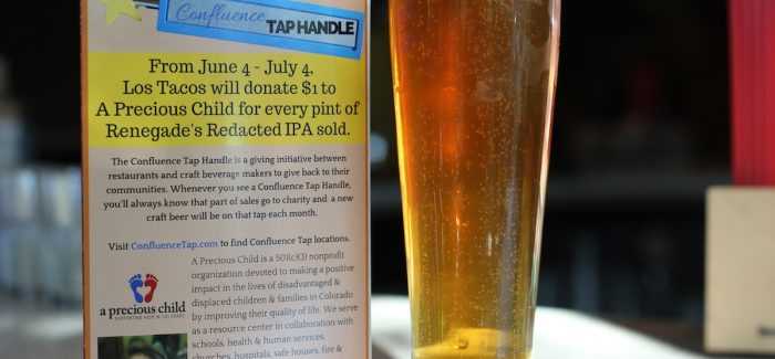 Confluence Tap at Los Tacos raises over $200 for A Precious Child