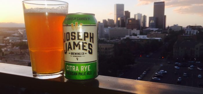 Joseph James Brewing Co. | Citra Rye American Pale Ale