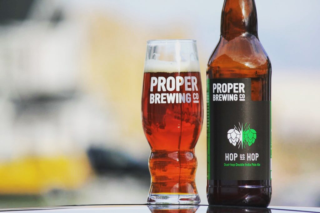 Proper Brewing Co - Hop vs Hop