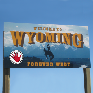 left hand enters wyoming