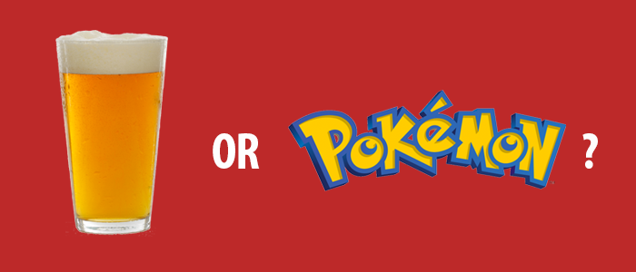 QUIZ: Craft Beer or Pokémon?