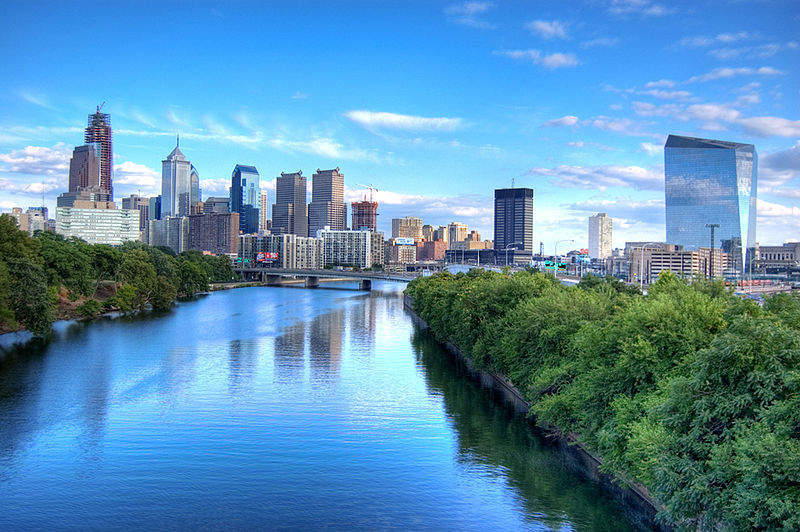 The Schuylkill River, which makes originates in the Pocono Mountains down through Pottsville to Philadelphia.