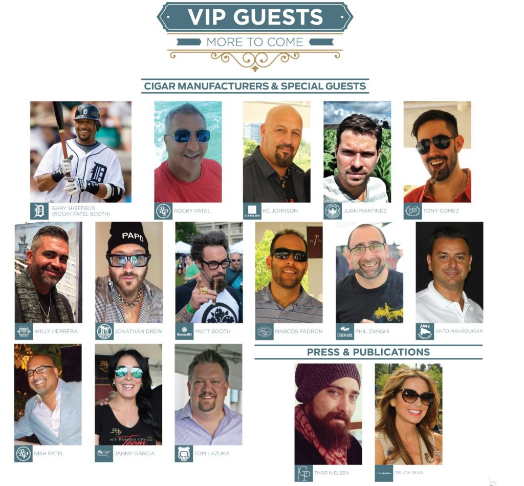 rmcf 2016 VIP Guests