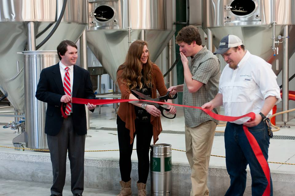 Southbound Brewing Co. ribbon cutting