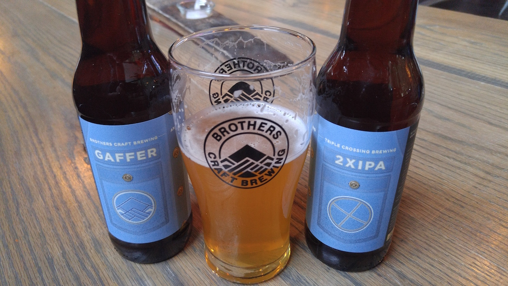 Brothers CBC/Triple Crossing | Gaffer Double IPA