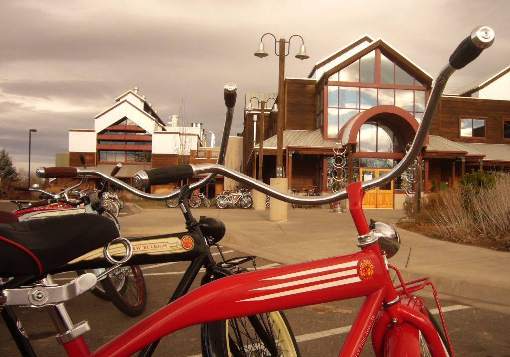New Belgium's culture seems to be immersed in environmental-friendliness and sustainability.
