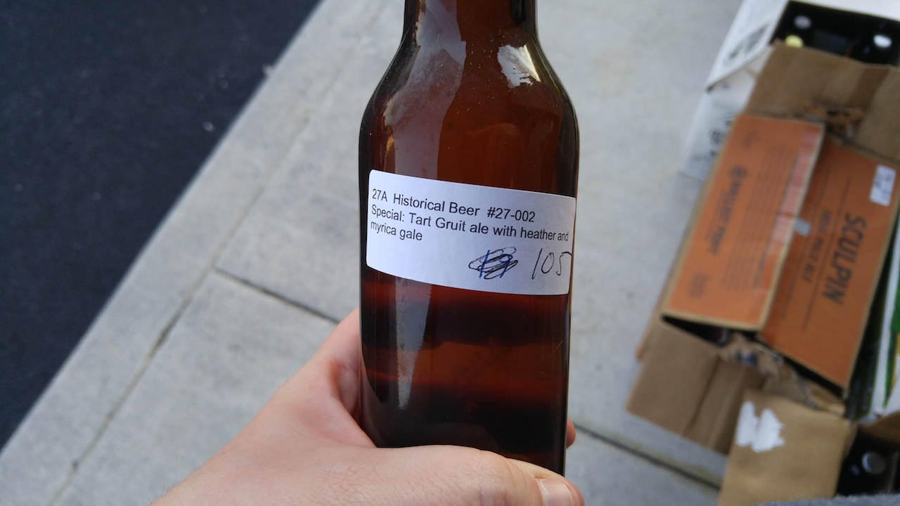 (Beer judged in the Experimental Category; Photo by Scott Johnson)