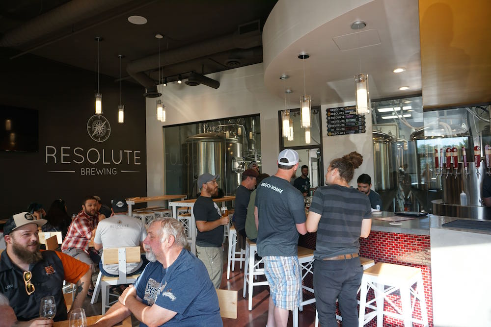Resolute Brewing Taproom