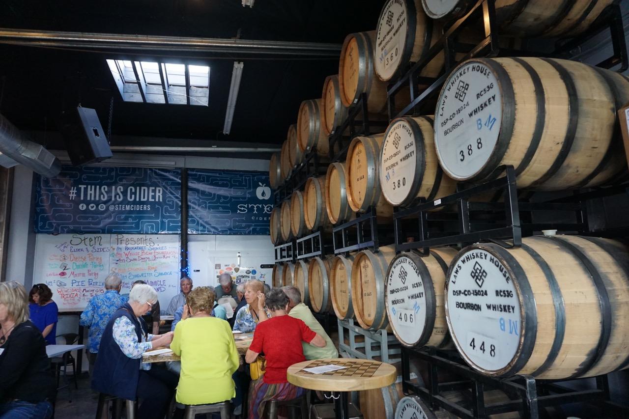 Stem Ciders Barrel Aged