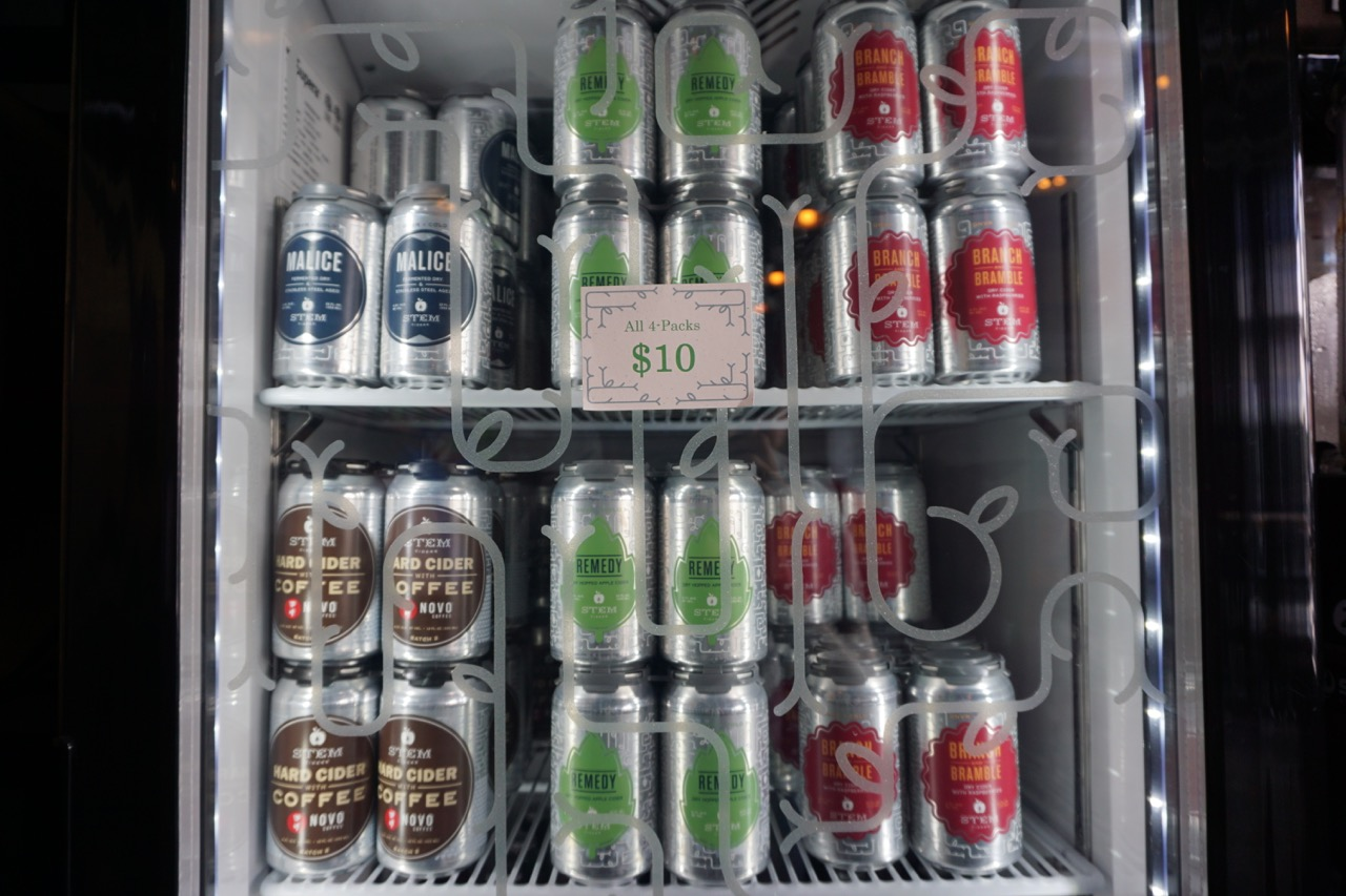 Stem Ciders Cans