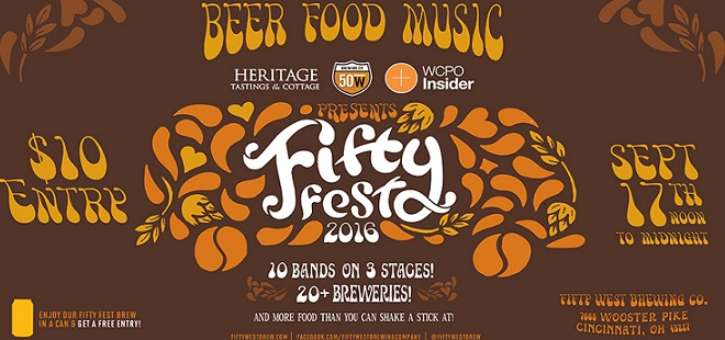 URGENT: Event Preview | Fifty West Brewing Co.'s Fifty Fest