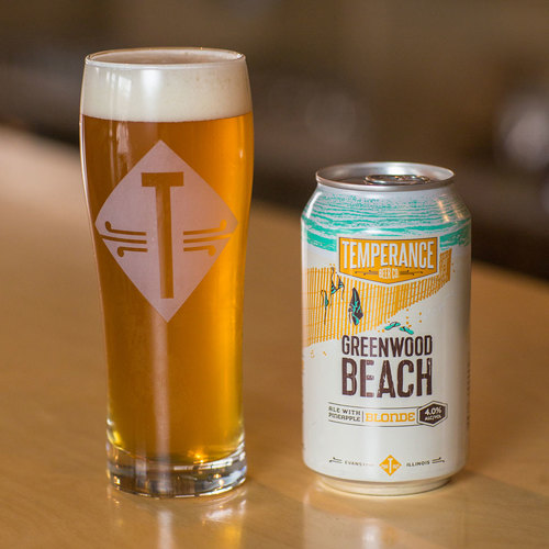 Greenwood Beach Beer and Can