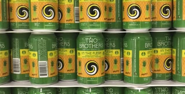 Two Brothers Brewing | In the Flesh Pineapple
