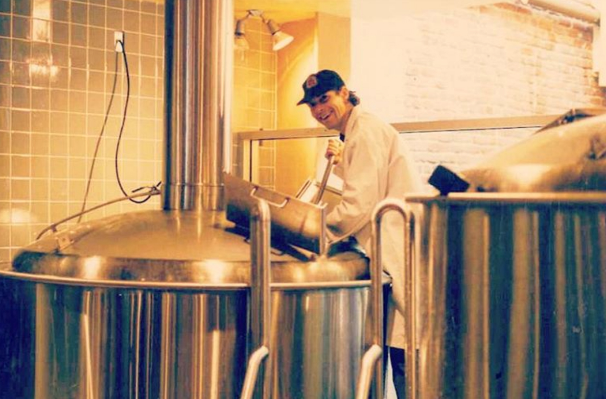 Ron Silberstein 1996 (Photo courtesy of ThirstyBear Brewing Co.)