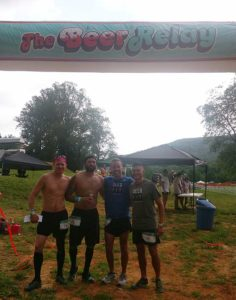 Burning Can Beer Relay Winners