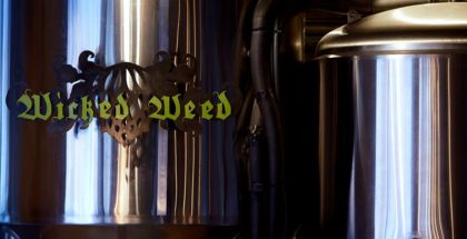 wicked weed brewering tank