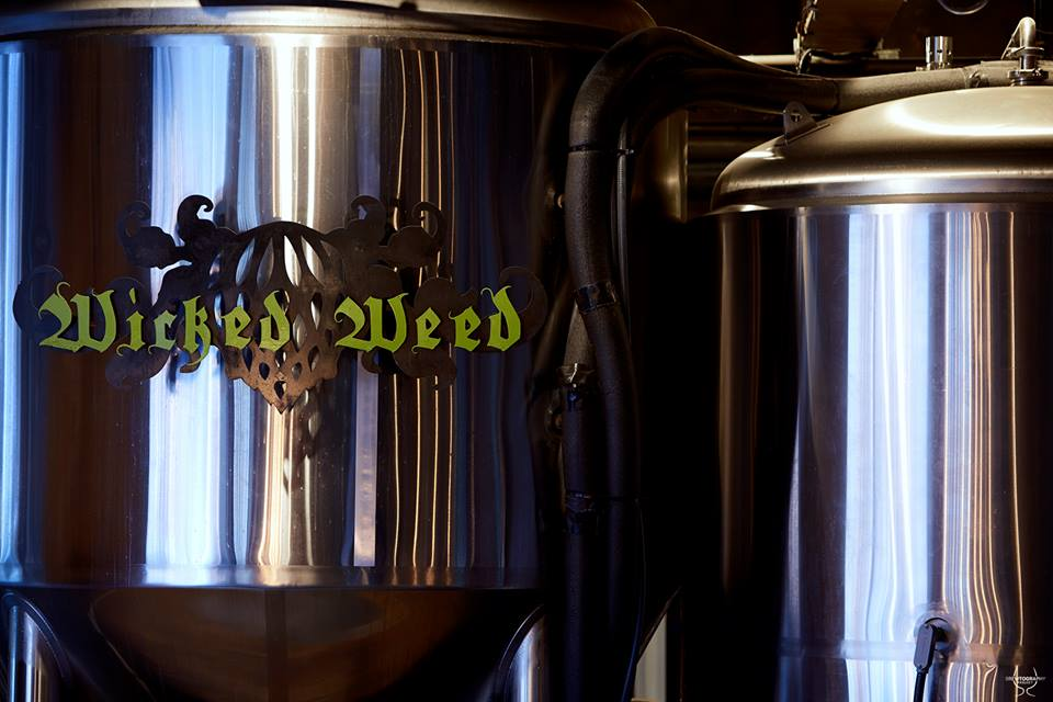 Wicked Weed Brewing Tank