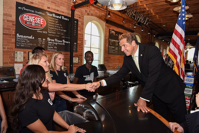 beer news Gov Cuomo Genesee Brewing