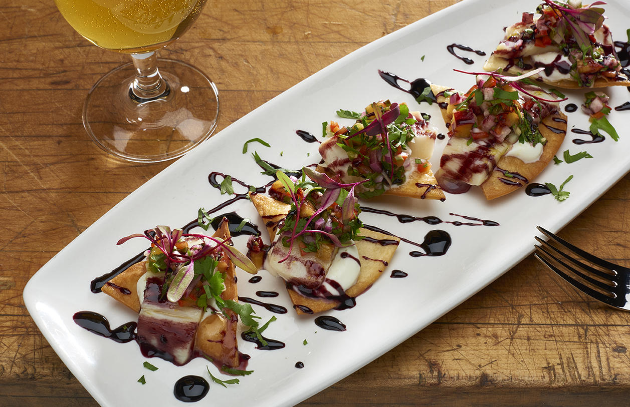 This ceviche is one of the many exciting dishes at Briar Common. Photo courtesy of Briar Common.