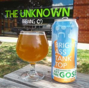 Unknown Brewing Co. Bright Ass Tank Top Gose